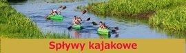 Spływ kajakami rzeką Biebrzą