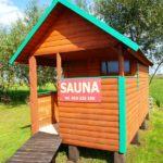Sauna (ruska bania) nad Biebrzą