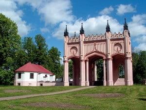Dowspuda- Pałac Paca