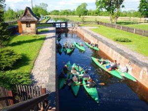 Spływy kajakami rzeką Biebrzą i Kanałem Augustowskim