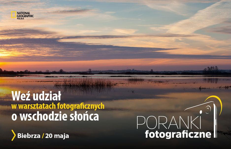National Geographic - warsztaty fotograficzne