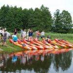 Spływy kajakami polietylenowymi rzeką Biebrzą