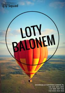 Loty balonem Biebrza