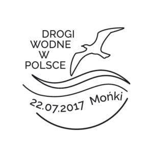 Kartka pocztowa - drogi wodne w Polsce