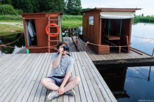 Weekend nad Biebrzą – spływ tratwą