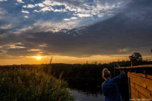 Makulscy o spływie tratwą Biebrzą - Weekend na tratwie