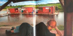 Tomasz Tomaszewski fotograf zdjęcie tratwy Biebrza