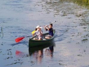 Canoe trzyosobowe APACZ Biebrza