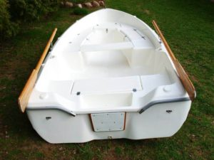 Wypożyczalnia Łódka wiosłowa wędkarska Biebrza - DarMar370 Fisch