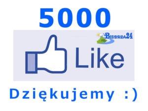 5000 lajków na facebooku Biebrza24