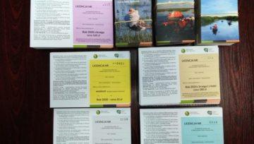 Licencje wędkarskie na 2020 rok są już w sprzedaży