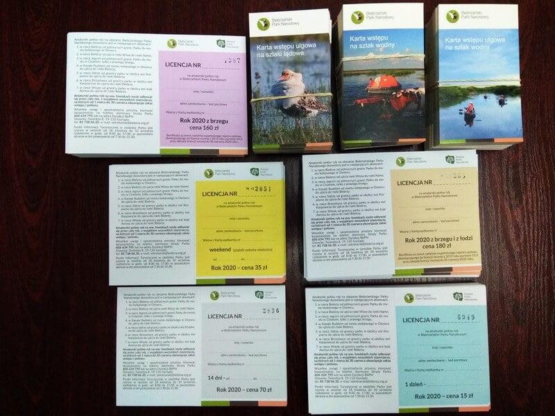 Licencje wędkarskie