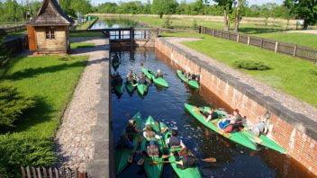 Spływy kajakowe Kanałem Augustowskim